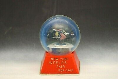 1964-65 New York World's Fair Original Unisphere Snow Globe Made in 1961!