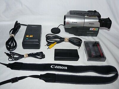 Canon ES400 ES400V ES400VA 8mm Video8 Camcorder Camera VCR Player Video Transfer