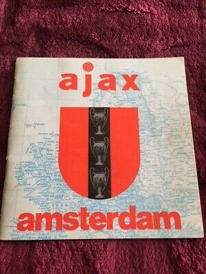 Booklet Ajax Amsterdam - season 1973/74 - rare!