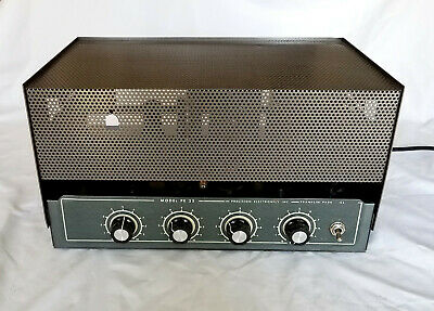 Grommes Precision Electronics PE 25 Model G Dual 6L6 Tube Amplifier Guitar Harp