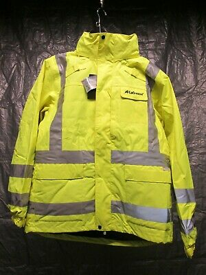 3M 48033 Large Reflective Yellow 3-in-1 Parka Reversible High-Visibility NEW