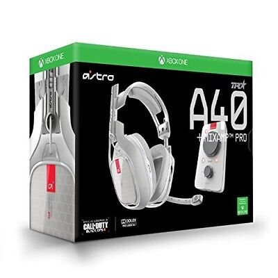 Astro A40 TR w/ MixAmp Pro TR Xbox One/PC - Red Custom Accent w/ Inline Mute 2.0
