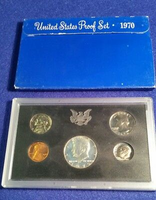 1970 US Proof Set in Original Mint Packaging - FREE SHIPPING