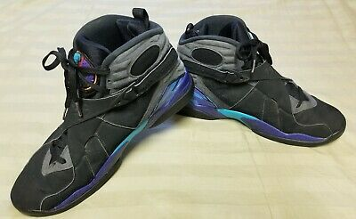 0e392511140e91 Nike Air Jordan 8 VIII Retro Aqua 2015 Style   305381-025 Size 12 Great
