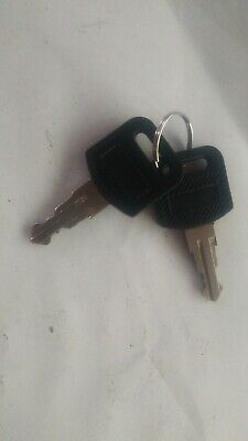 Dust cover keys (spare)