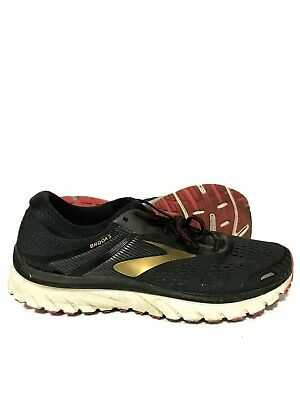 b1ea6b3baae BROOKS ADRENALINE GTS 18 Mens Running Shoes Black Gold Red Size 11 ...