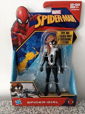 Hasbro Marvel Spider-Man Spider-Girl 6-Inch Squeeze Backpack Figure - E1106 NEW!
