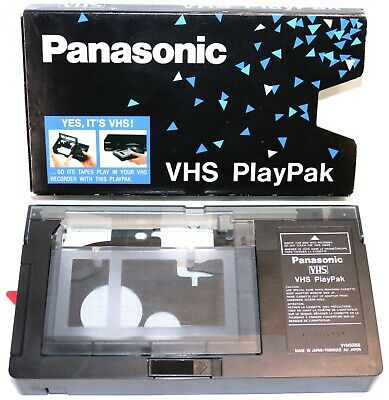 Panasonic VHS PlayPak VYMW0068 VHS-C to VHS Adapter Video Cassette ~$0 Fast Ship