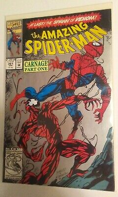 Marvel Comics The Amazing Spiderman Carnage Part One #361 Comic Book