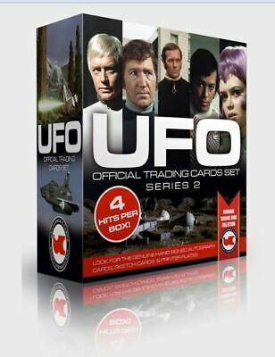 Sealed UFO Series 2 Trading Card Box inc 4 Hits a Box + 1 Dealer Exclusive Promo