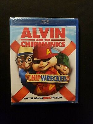 Alvin And The Chipmunks Chipwrecked Blu ray, L44 A2.
