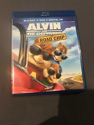 Alvin and the Chipmunks: The Road Chip (Blu-ray/DVD, 2016, 2-Disc Set