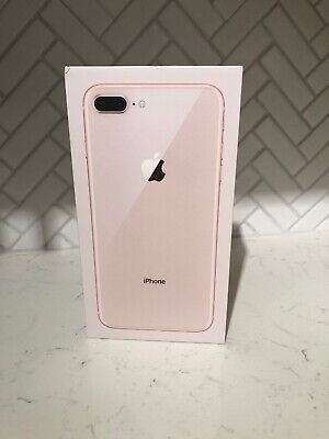watch 303eb fb148 APPLE IPHONE 8 Plus 64GB Rose Gold EMPTY BOX ONLY NO ACCESSORIES