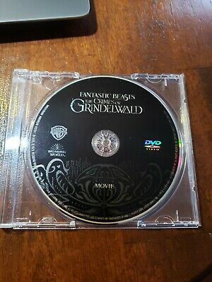 Fantastic Beasts The Crimes of Grindelwald DVD disc only