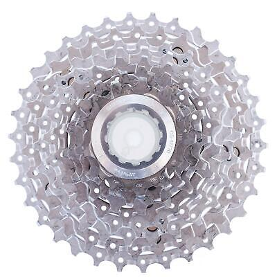 4ed4a3e3f54 USED Shimano Deore XT CS-M770 11-34t 9 Speed Cassette Mountain Gravel Bike