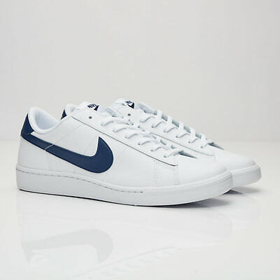 outlet store 37bd8 d9151 NIKE MEN S TENNIS CLASSIC CS SHOES WHITE MIDNIGHT NAVY 683613 107 Size 14