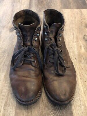 9cde600a320 WOLVERINE 1000 MILE Evans Boots Size 11.5 - Stone Leather