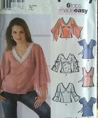 99dce515c44 Simplicity Sewing Pattern-Misses  PULLOVER TOP-Variations-Size  12-20