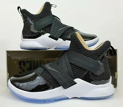 feed254d978 Nike LeBron Soldier XII SFG Black Basketball Shoes AO4054-005 Men s Size 11