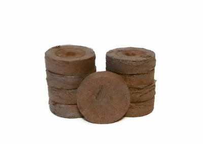 30mm Jiffy Peat Pellets, 25, 50, 75, 100, 200, 300 Growing Supplies, Easy to Use