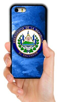 El Salvador Coat Of Arms Phone Case Cover For Iphone Xs Max Xr 4 5 5C 6 7 8 Plus