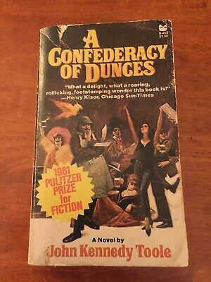1981 1st Edition 3rd Printing A CONFEDERACY OF DUNCES book John Kennedy Toole