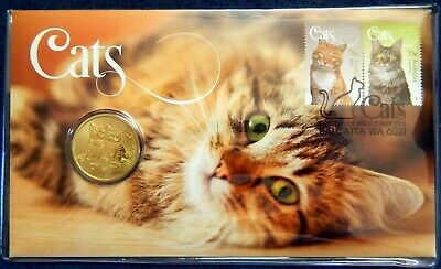 2015 $1 Tuvalu Australia Cats PNC Perth Mint Limited Edition 2882/7500