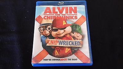 Alvin And The Chipmunks ChipWrecked Blu ray