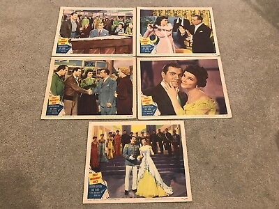 5 Original Lobby Cards (From 8) 11x14 That Midnight Kiss (1949) Kathryn Grayson