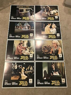 Original Lobby Card Set (8) 11x14: What's the Matter With Helen (1971)
