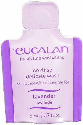 25 pack Eucalan Fine Fabric Wash 0.17ounce Single Use Pod Lavender, 25-Pack