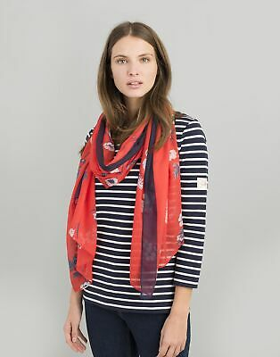 Joules Women 124757 Womens Printed Scarf ONE in  in One Size