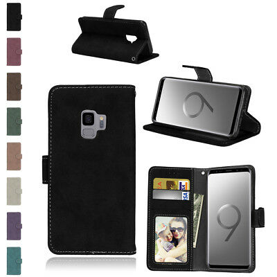 For Huawei Mate 10 Lite Honor 6C Pro 9i Magnetic Card Wallet Leather Stand Cover