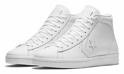 0a0c28113c79 Converse Pro Leather 76 Mid White Leather 155335C New Men s Shoes Size 11