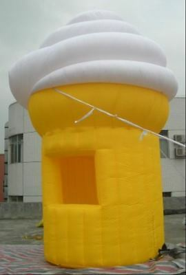 13ft.Tall Commercial Inflatable Ice Cream Concession Stand Food Tent Booth