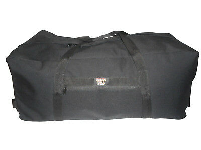 Equipment bag,wide opening,Decon bag with heavy duty zipper,end carrying straps