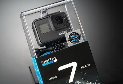 GoPro HERO7 BLACK Action Cam Camcorder, 4k 60 Ultra HD, OVP NEU
