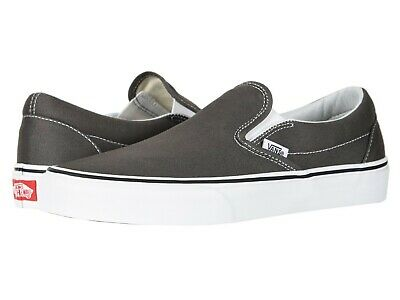 2474b9fed76cfc Unisex VANS Classic Slip-On Shoes CHARCOAL Gray Mens 7.5 Womens 9.0 - NWOB