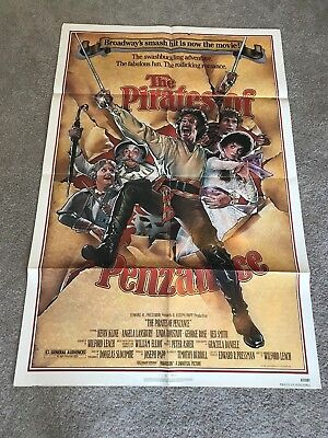 ORIGINAL 1-SHEET POSTER 27x41: The Pirates of Penzance (1983) Kevin Kline