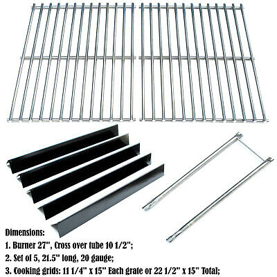 Replacement Weber 2241298 Rebuild Kit Burners, Heat Plates, Cooking Grids