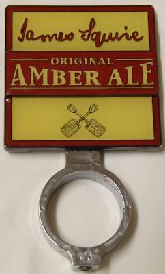Collectible James Squire Amber Ale Double Sided Tap Top - Excellent
