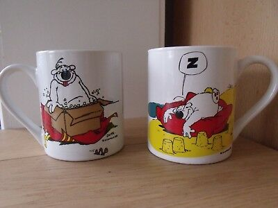 "2 mugs CUBITUS (Dupa) différents ""le Lombard 2002"" collector"