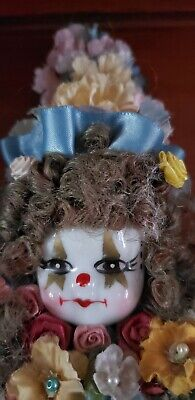 Haunted Paranormal Spirit Vessel Clown Strong Powers Very Active Protection