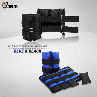 5/6/8/10 KG Adjustable Ankle/ Wrist/ Leg Weights Training Fitness Gym Sandbag