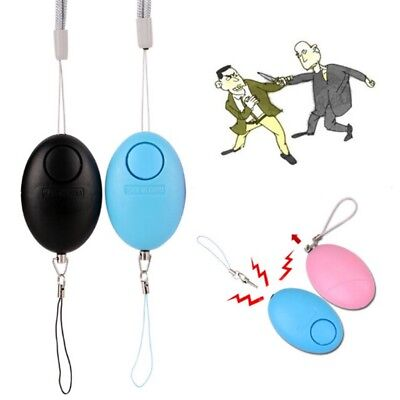 Defense Keychain Egg-Shaped Personal Safety Alarm Anti-Attack Rape Security Self