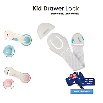 Baby Child Safety Locks Toddler Proof Adjustable Latches For Cabinet Door Drawer