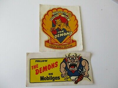 1960/64 Melbourne F.C Mobilgas & Shell Decals