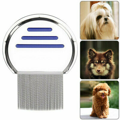 Hair Lice Comb Brushes Terminator Fine Egg Dust Nit Free Removal Stainless Steel