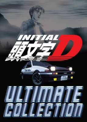 Anime DVD INITIAL D ULTIMATE COLLECTION 1-6+ Battle + Extra ENGLISH AUDIO BoxSet