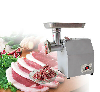 850W Electric Meat Grinder Home Commercial Stainless Steel 220V/110V Kitchen NEW